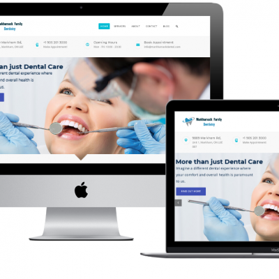 Dental Clinic Website