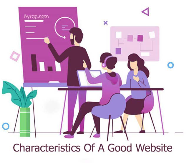 characteristics a good website